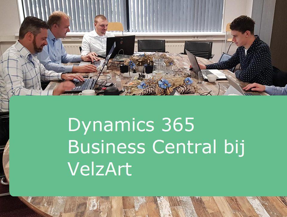 foto team Business Central implementatie VelzArt