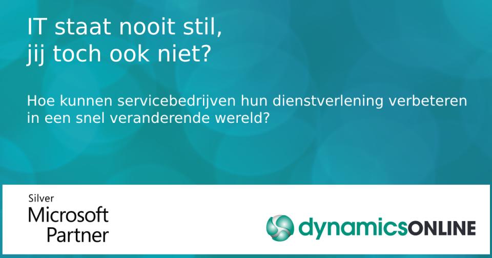 Samenwerking tussen Microsoft en DynamicsOnline voor het implementeren van Dynamics 365 Business Central
