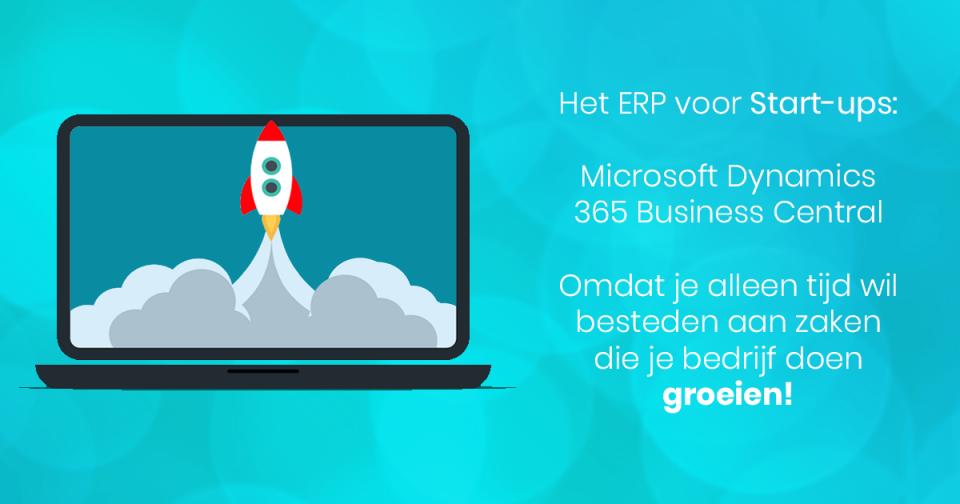 Het ERP voor Start-ups Microsoft Dynamics 365 Business Central